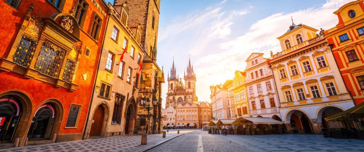 Guía Praga, Verano en Praga