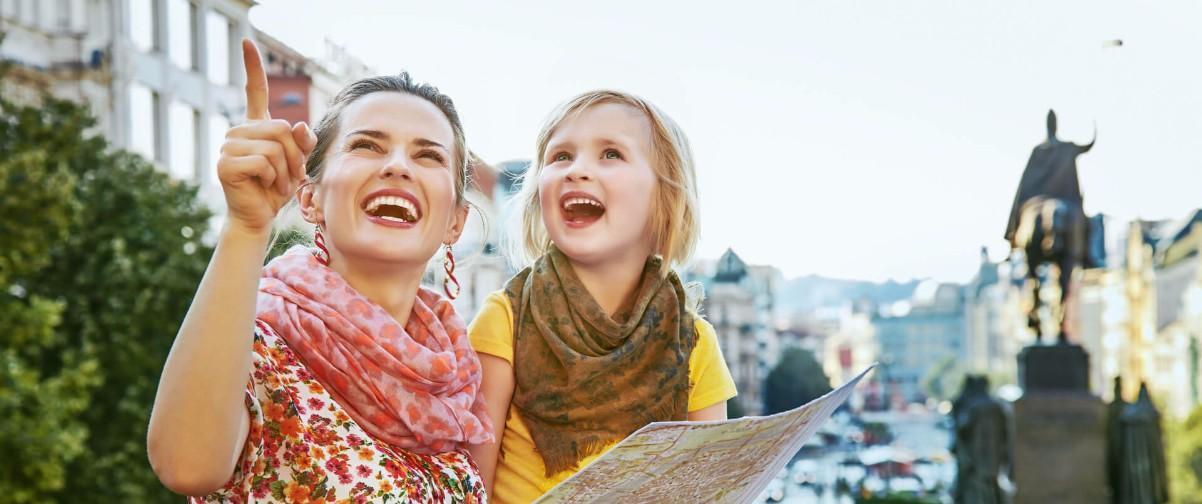 Guía Praga, Viaje con niños