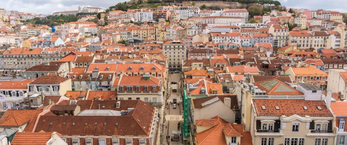 Guía Lisboa, Vista Mirador Santa Lucía