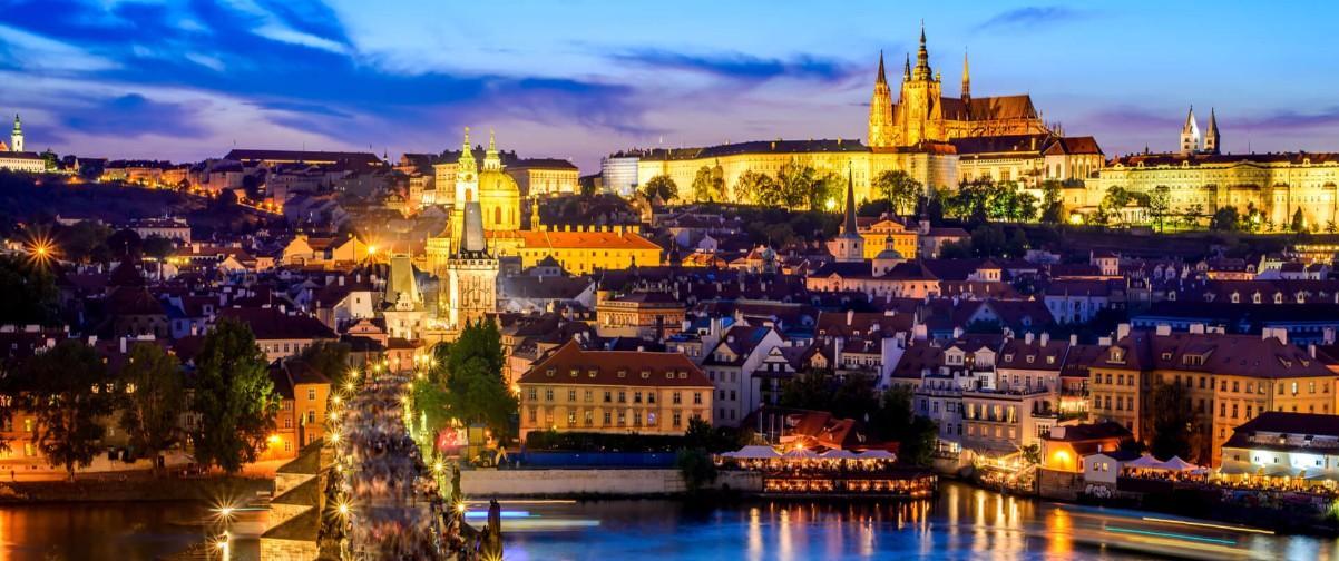 Guía Praga, Vistas de Praga