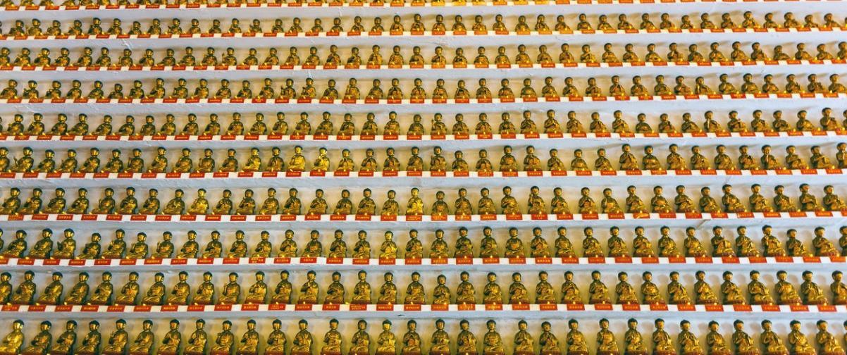 Monasterio 10.000 budas
