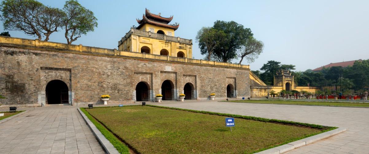 Guía Hanoi, Ciudadela imperial Thang Long