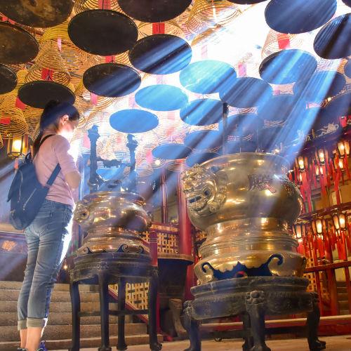 Guía Hong Kong, Templo Man Mo