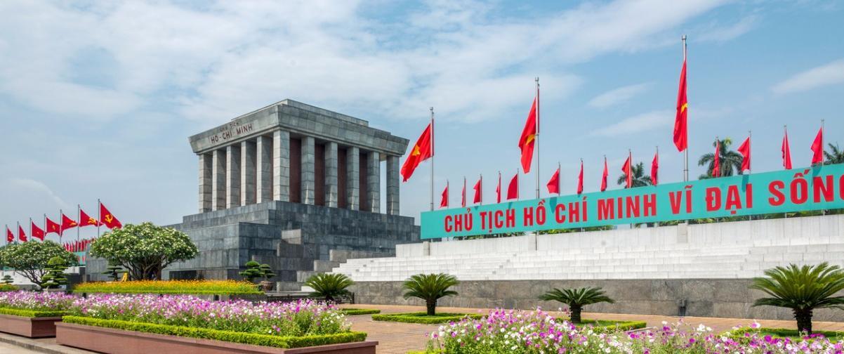 Guía Hanoi, Mausoleo de Ho Chi Minh