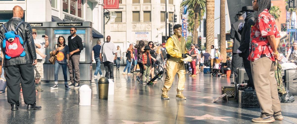 Guía Los Ángeles, Paseo de la Fama