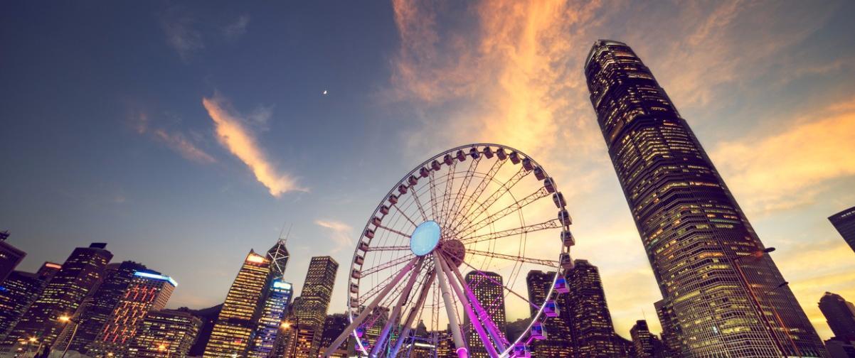 Guía Hong Kong, Rueda de observación