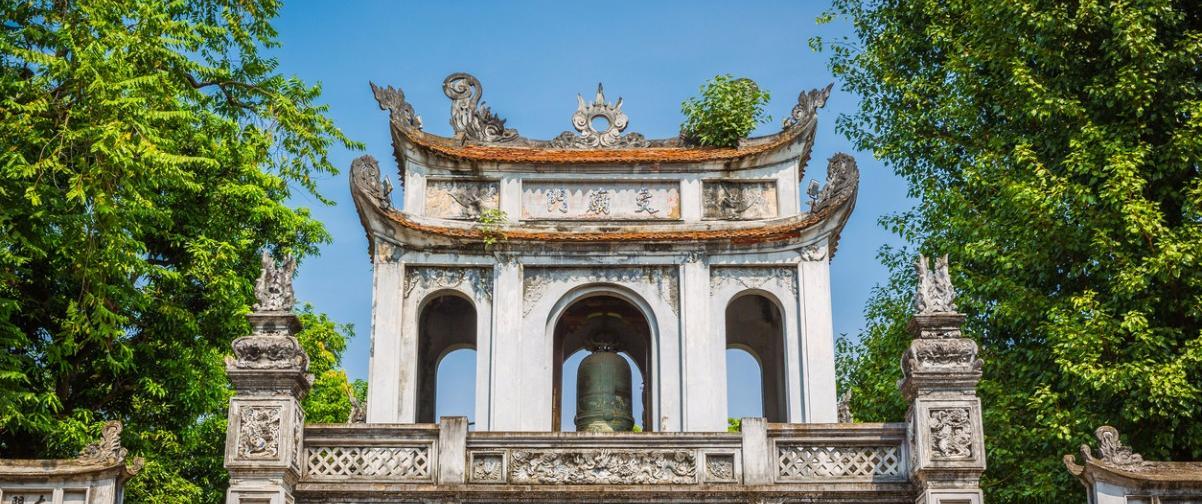 Guía Hanoi, Templo de la Literatura