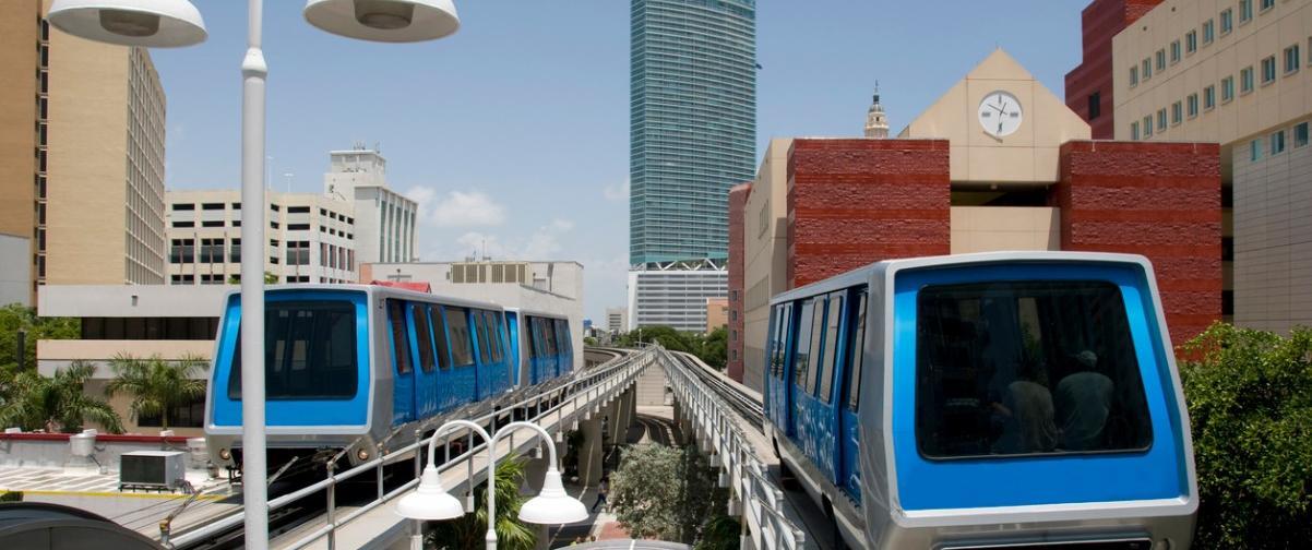 Guía Miami, Tren en Miami