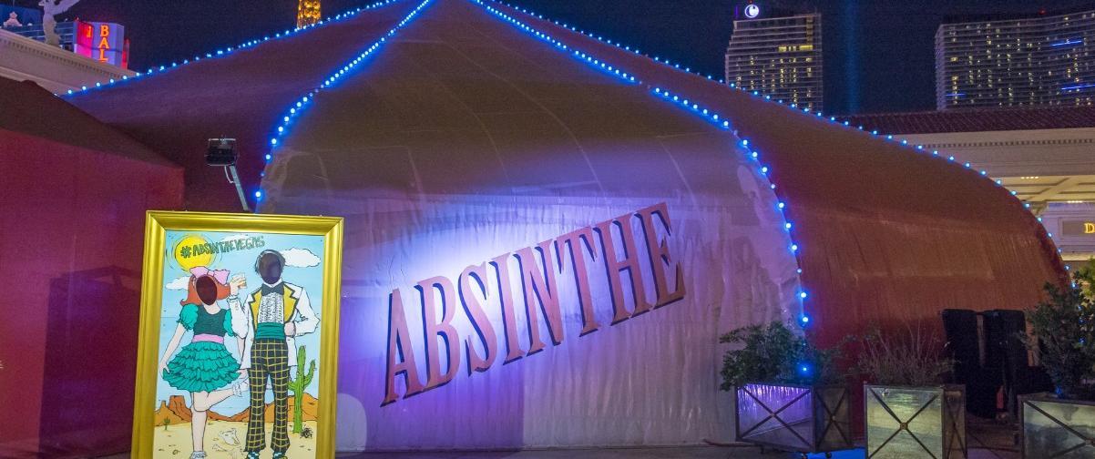Guías Las Vegas, Show Absinthe