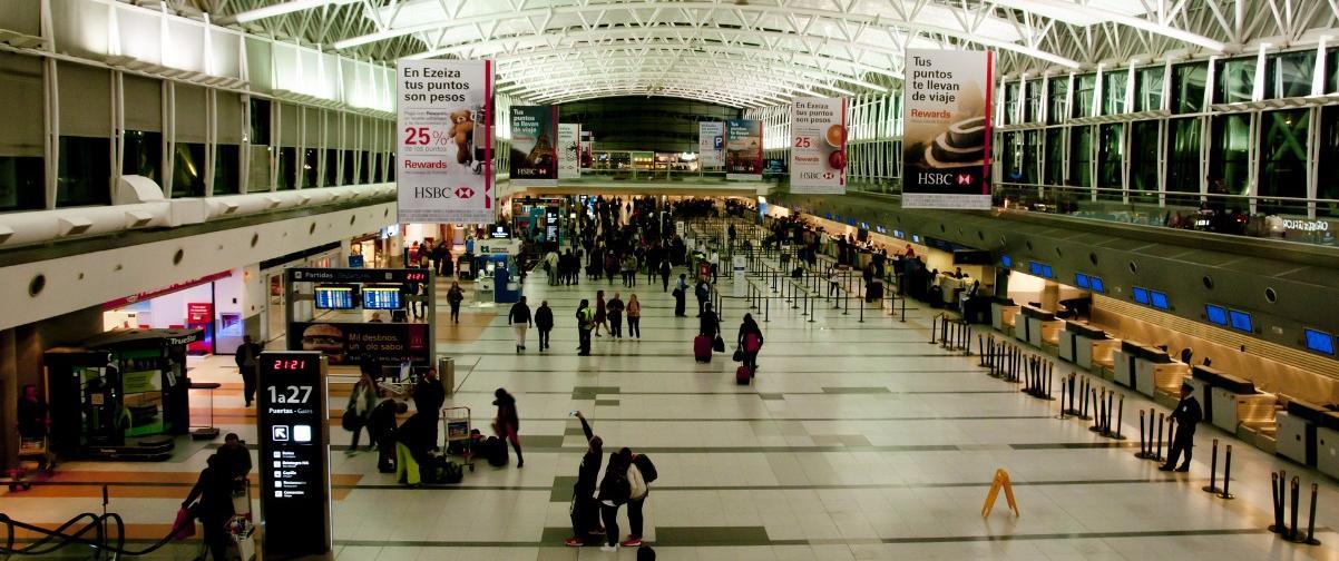 Guía Buenos Aires, Aeropuerto Ezeiza