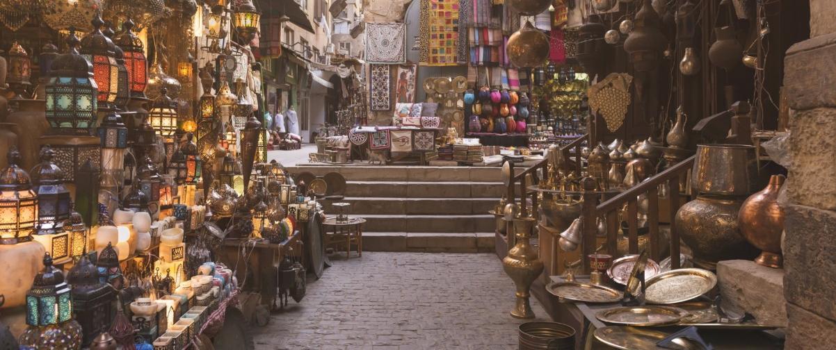 Guía El Cairo, Bazar Al-Khalili