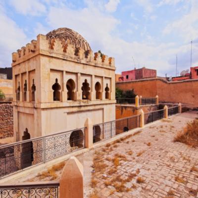 Guía Marrakech, Almoravid Koubba