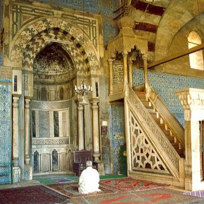 Aqsunqur mosque, El Cairo