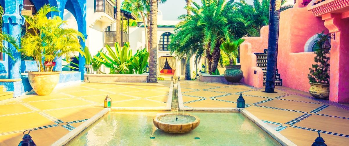 Guía Marrakech, Arquitectura tradicional