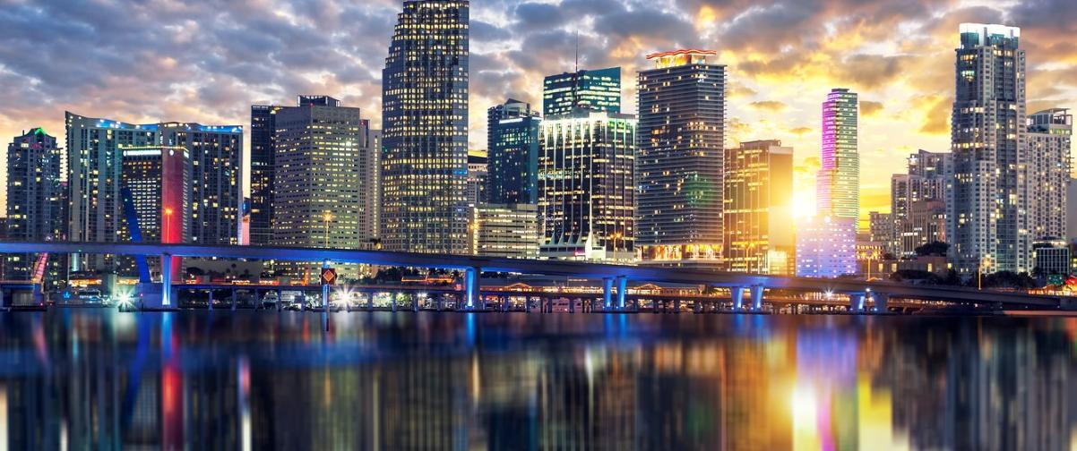 Guía Miami, Atardecer Centro Miami