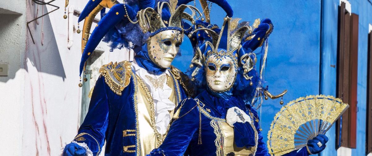 Guía Venecia, Baile de máscaras