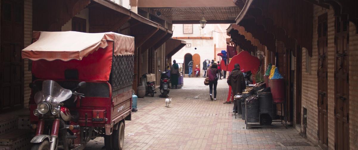 Guía Marrakech, Barrio Judío