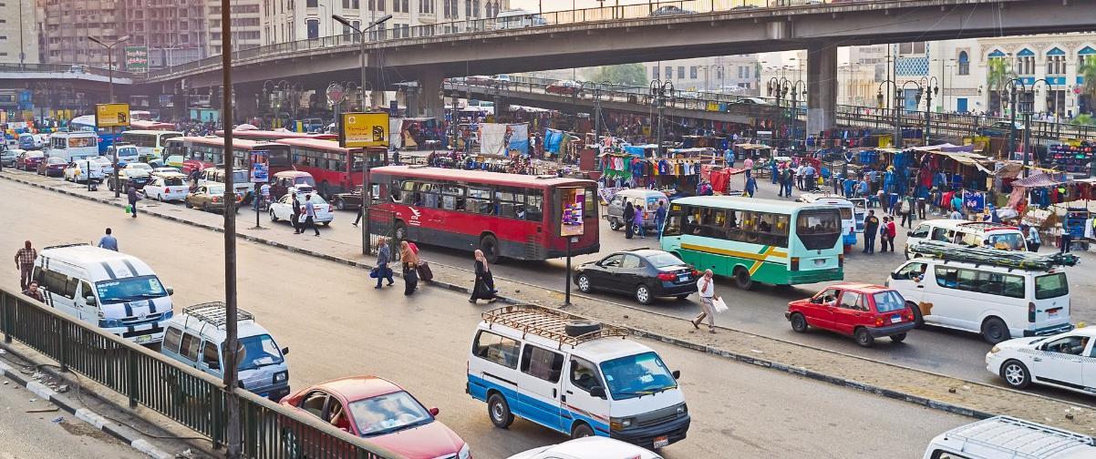 Guía El Cairo, Autobuses en circulación