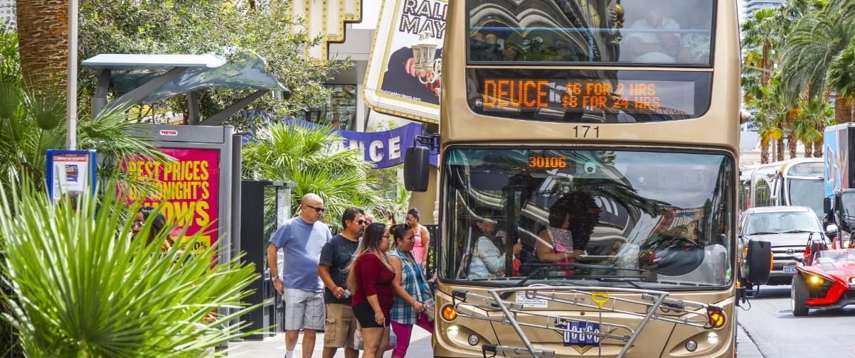Guía Las Vegas, Servicio de bus