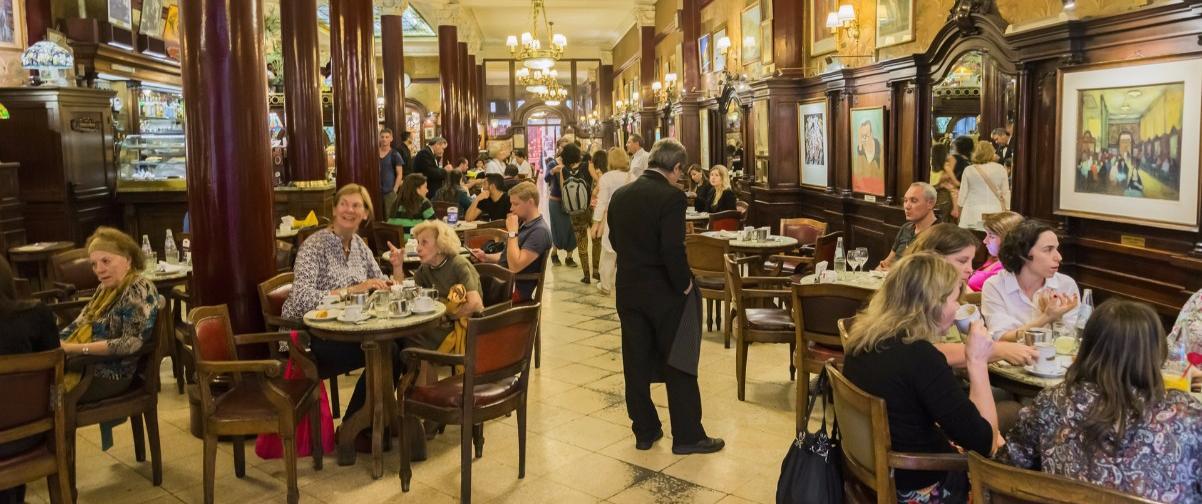 Guía Buenos Aires, Café Tortoni