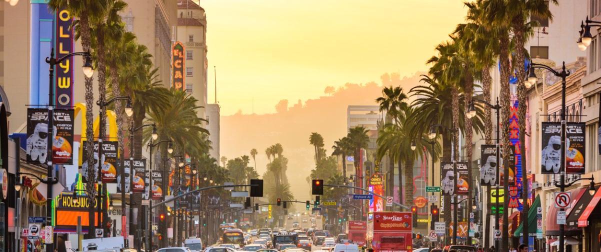 Guía Los Ángeles, Calle Hollywood Boulevard