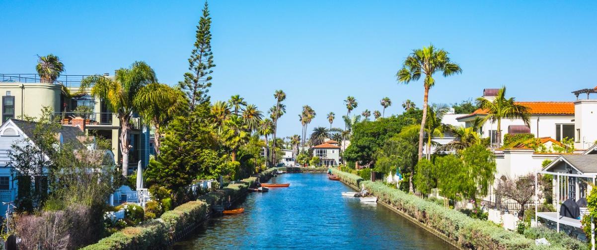 Guía Los Ángeles, Canales Venecia