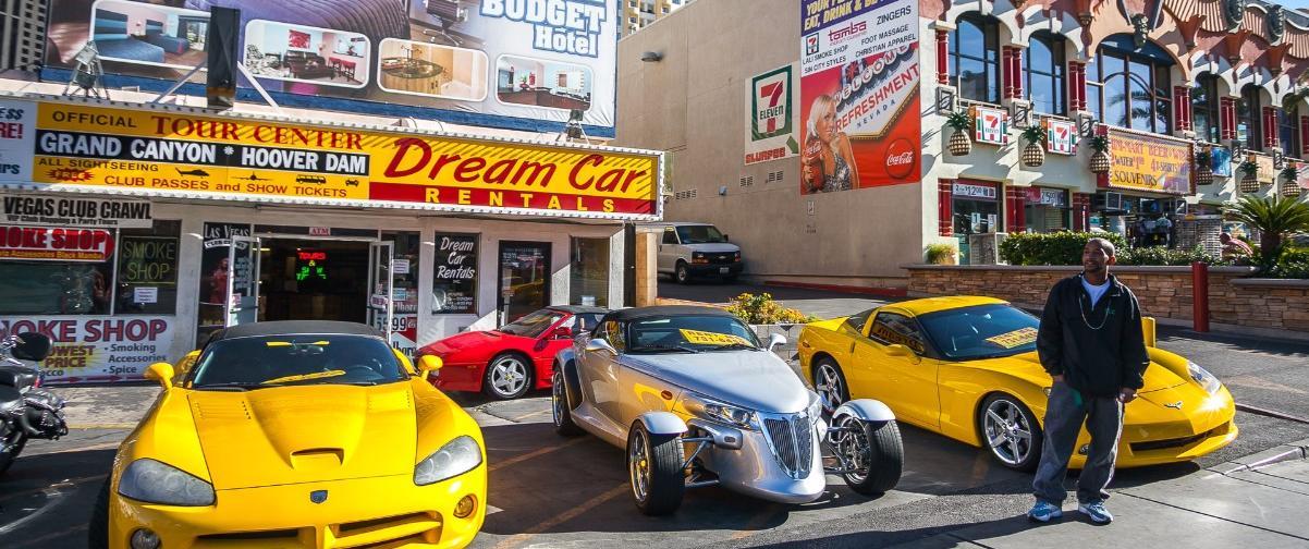 Guía Las Vegas, Alquiler de coches
