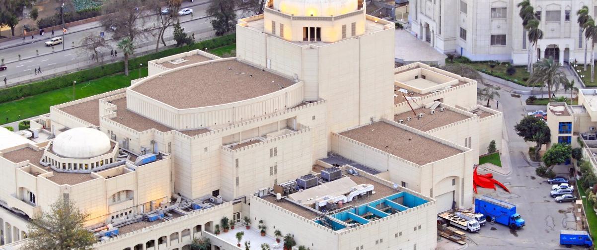 Guía El Cairo, Casa de la Ópera