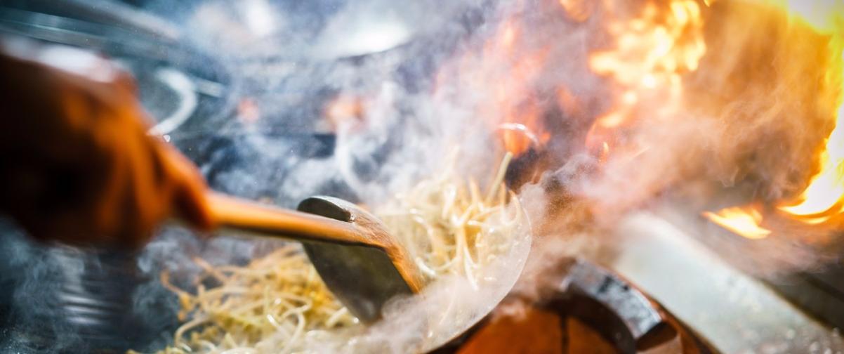 Guía Hong Kong, Chef cocinando