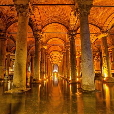 Cisterna Basílica, Guía Estambul