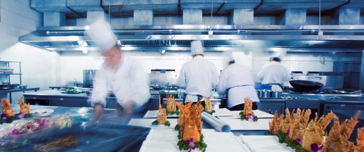 Guía Hanoi, Cocina de restaurante
