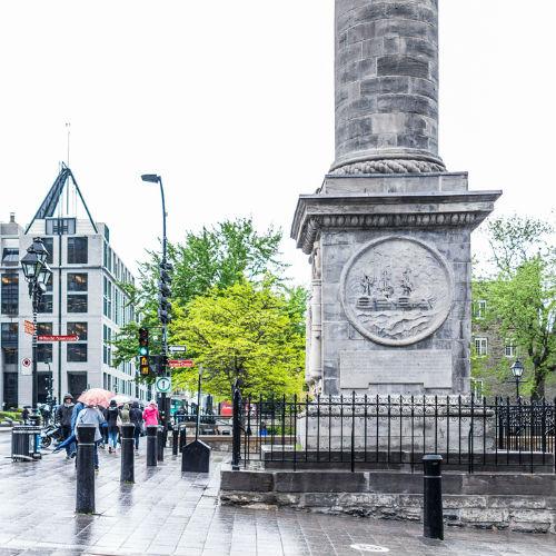 Guía Montreal, Columna Nelson