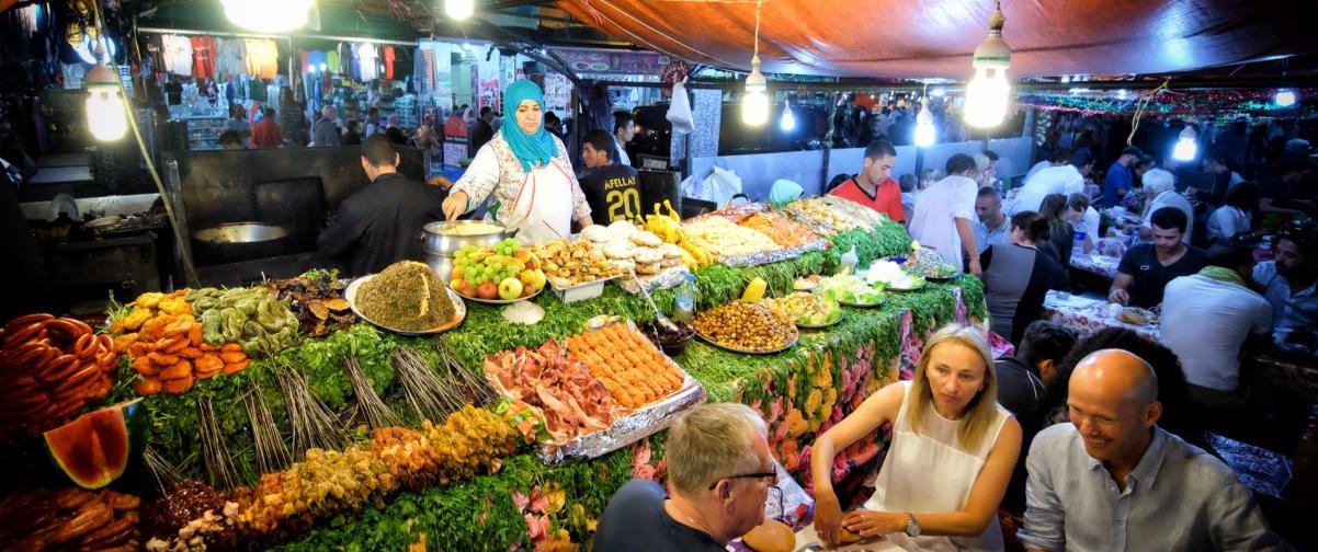 Guía Marrakech, Comerciante