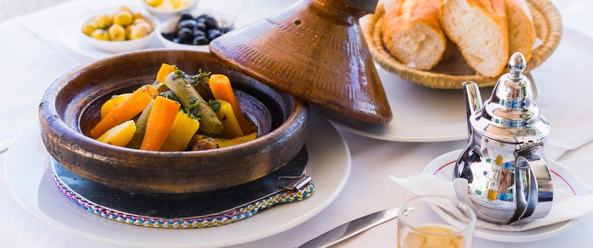 Guía Marrakech, Comida tradicional