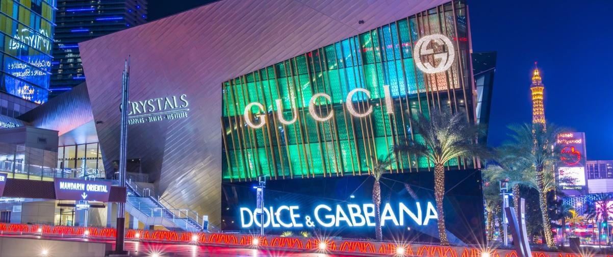 Guía Las Vegas, Crystals Mall