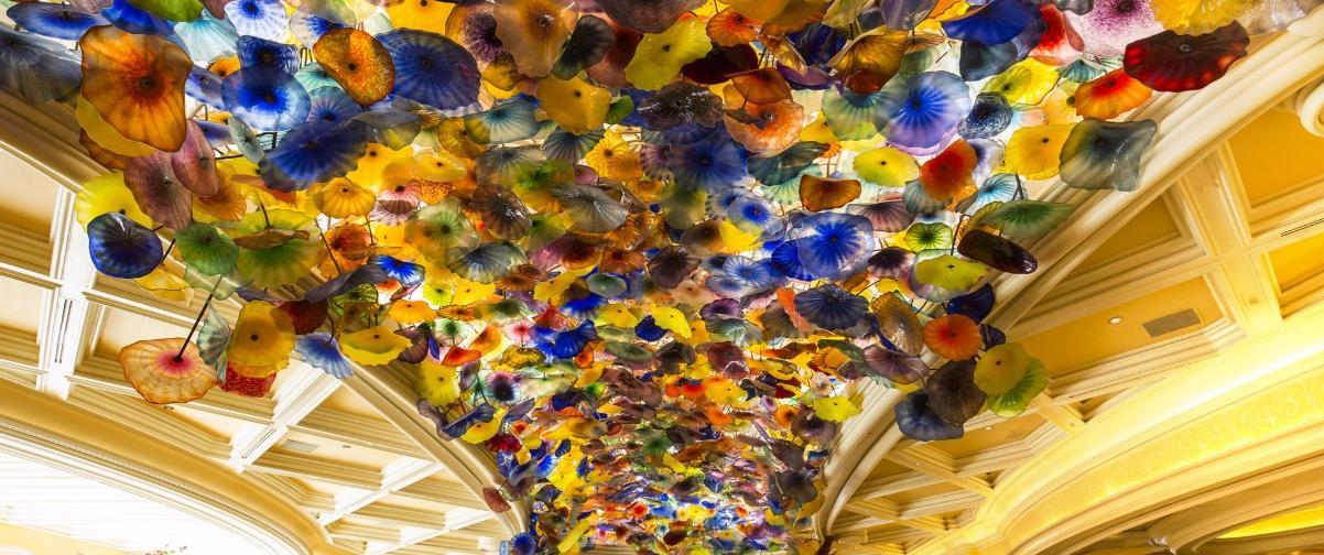 Guía Las Vegas, Cúpula Hotel Bellagio