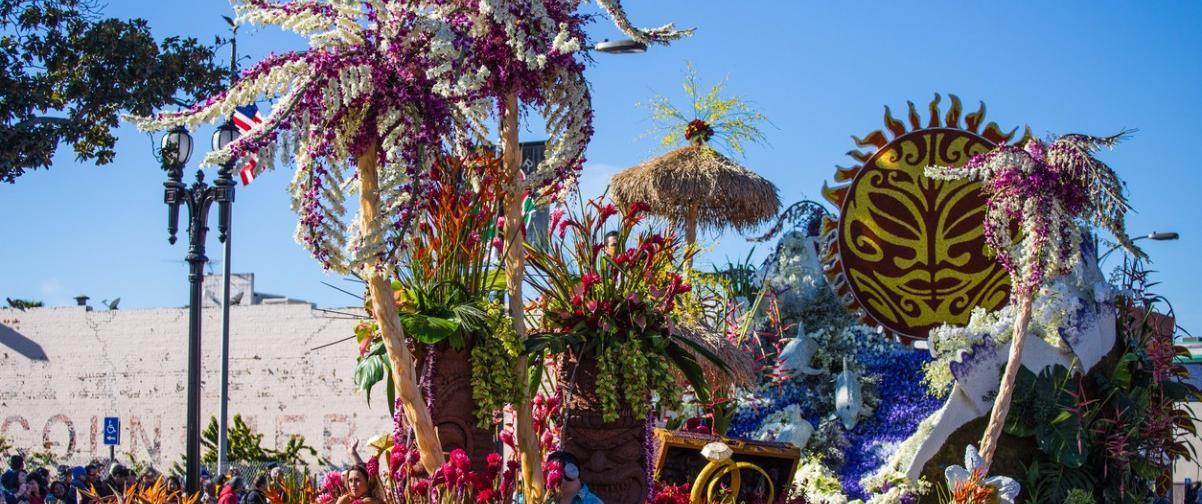 Guía Los Ángeles, Desfile Torneo de las Rosas