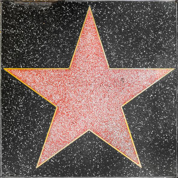 Guía Los Ángeles, Estrella Paseo de la Fama