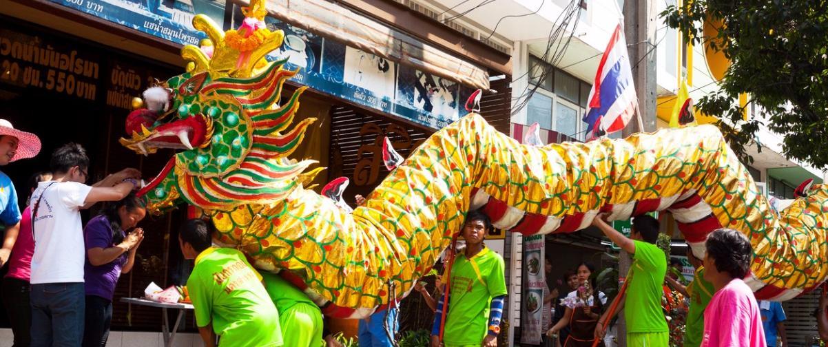 Guía Los Ángeles, Desfile Dragón dorado