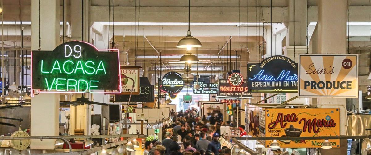 Guía Los Ángeles, Gran Mercado Central