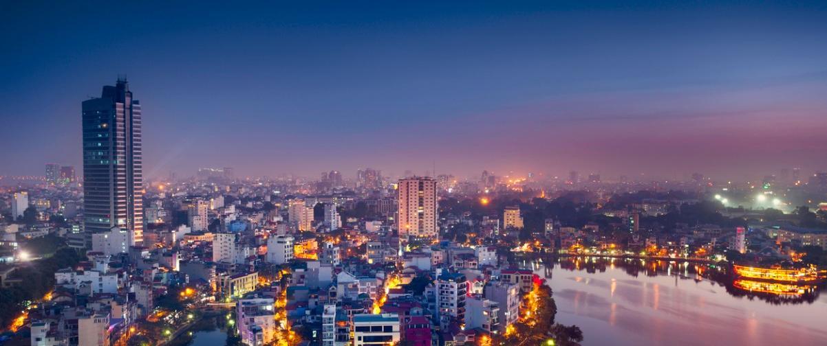 Guía Hanoi, Vista nocturna Hanoi