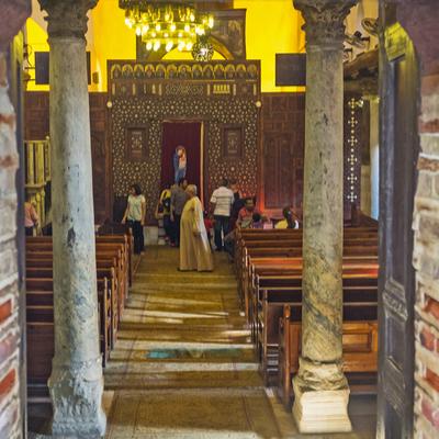Iglesia de San Sergio, El Cairo