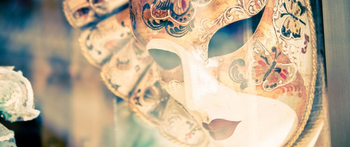 Guía Venecia, Máscara de carnaval