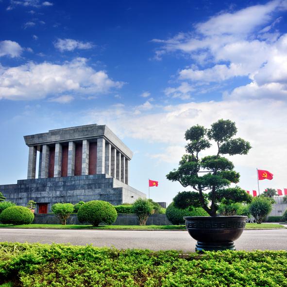 Guía Hanoi, Mauseoleo Ho-Chi-Minh