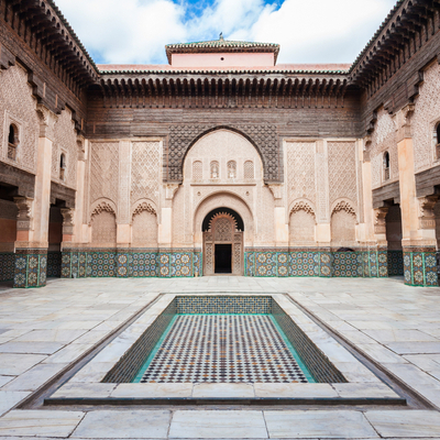 Guía Marrakech, Medersa Ben Youssef