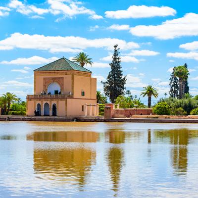 Guía Marrakech, Jardines de Menara