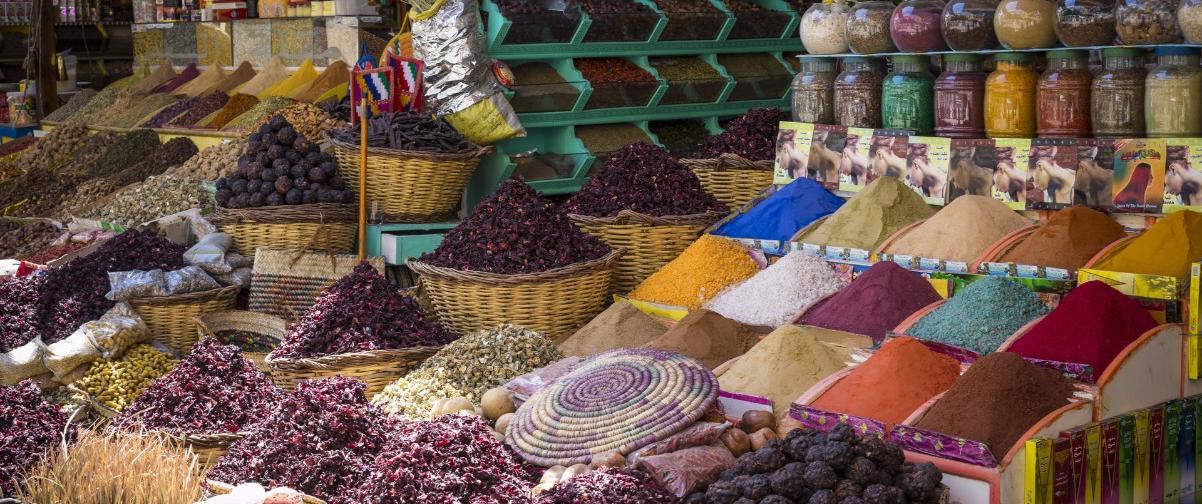 Guía El Cairo, Mercado de las especias