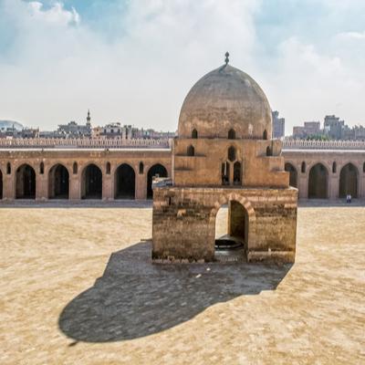 Mezquita Ibn Tolon, El Cairo