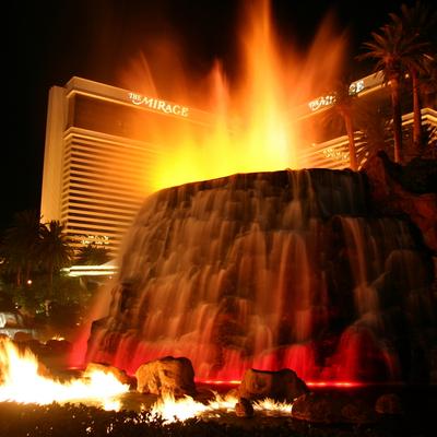 Volcán Mirage, Guía Las Vegas