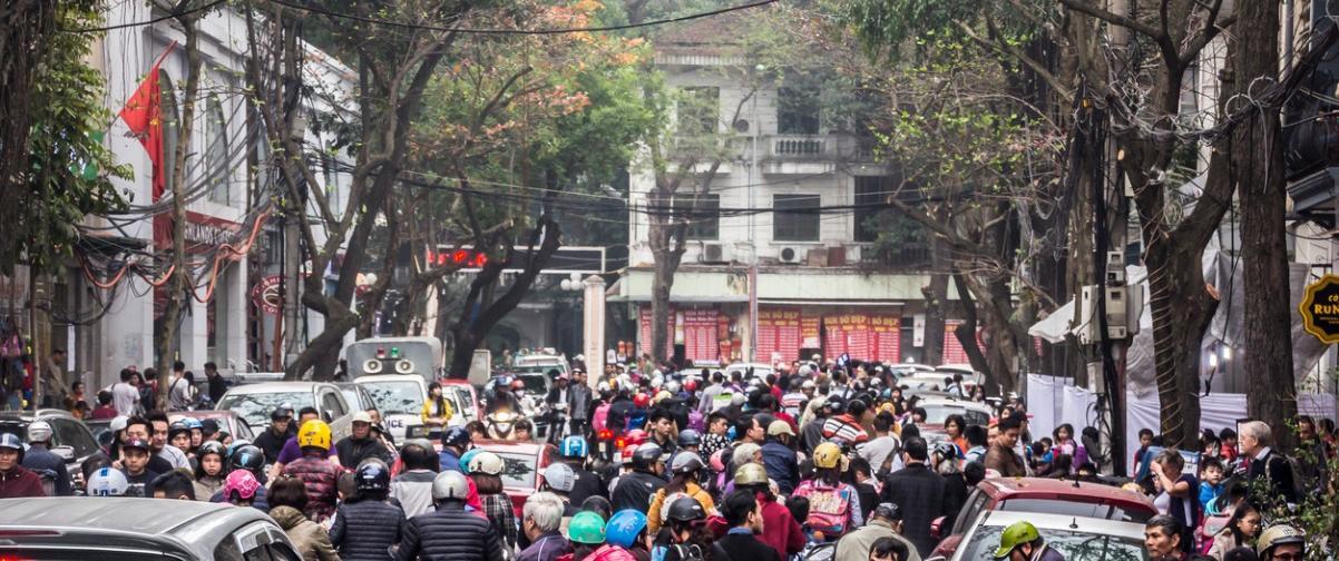 Guía Hanoi, Tráfico